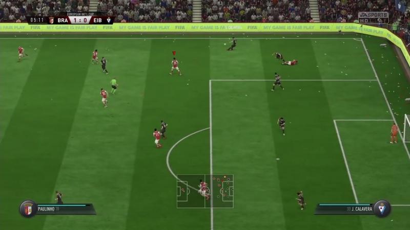 [Развлекательный канал SG] FIFA 18 КАРЬЕРА ВОКРУГ СВЕТА 16 Знакомство с Брагой