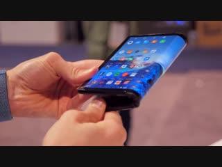 Первый обзор ГИБКОГО смартфона FlexPai