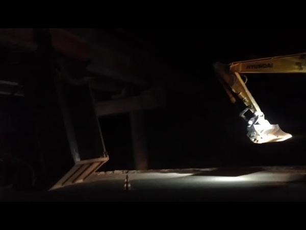 ВестиКрым рф ДТП на трассе Таврида самосвал в опору эстакады видео