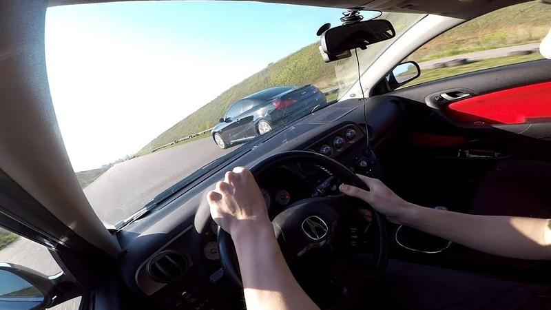 Acura RSX (гибрид) vs Infiniti G37s ... Так ли страшен гибрид