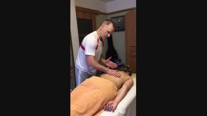 Порнография с элементаи массажа