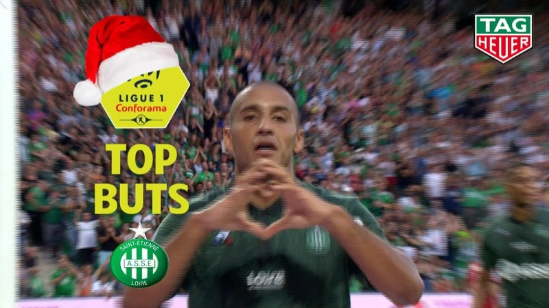 Top 3 buts AS Saint-Etienne | mi-saison 2018-19 | Ligue 1 Conforama