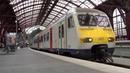 Intercity Trein vertrekt vanaf Station Antwerpen Centraal!