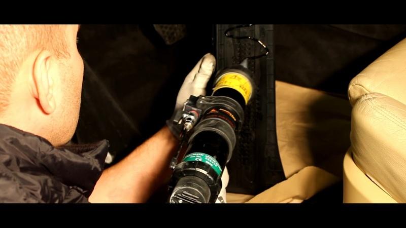 Установка М упора под левую ногу BMW X5 E70 F15, X6 E71 F16 | Repair Center