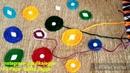 DIY Easy Jute Wall Hanging/Home decor Craft/ Jute nd Wools/ Art nd Craft/ Easy Craft/ tulikajagga
