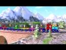 Shapes Train Song Nursery Rhymes Original Song by LittleBabyBum!