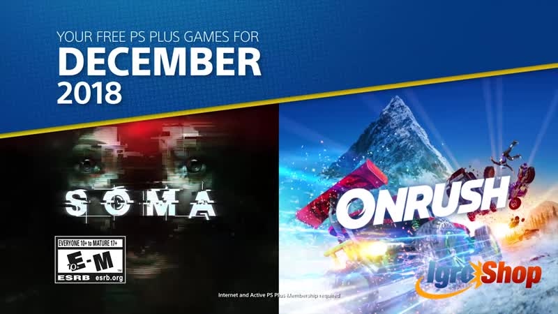 PlayStation Plus - Free PS4 Games Lineup December 2018