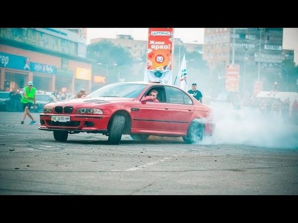 BMW e39 Дрифт,звуки выхлопа