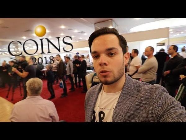 Репортаж с Выставки и Конференции Coins-2018