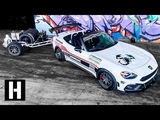 Ultimate Trackday Trailer Setup our Track Rat Fiat 124 is DONE!