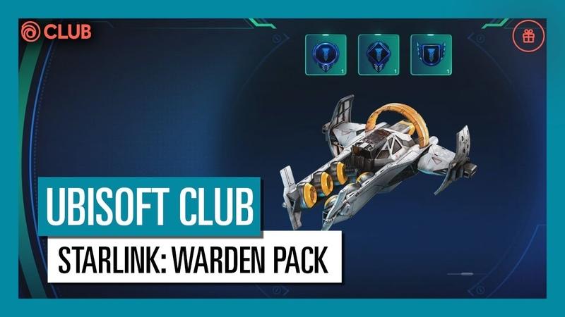 UBISOFT CLUB REWARDS: GET THE WARDEN PACK TO SAVE ATLAS IN STARLINK