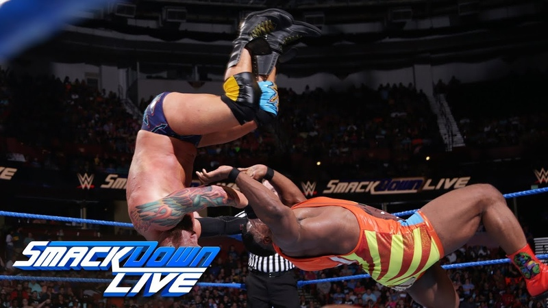 The New Day vs. SAnitY - Six-Man Tag Team Match SmackDown LIVE, Aug. 14, 2018