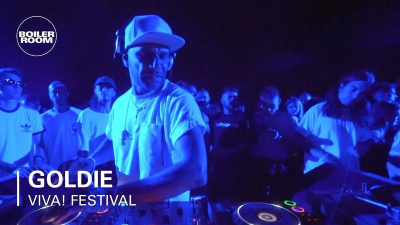 Goldie Boiler Room x VIVA Festival