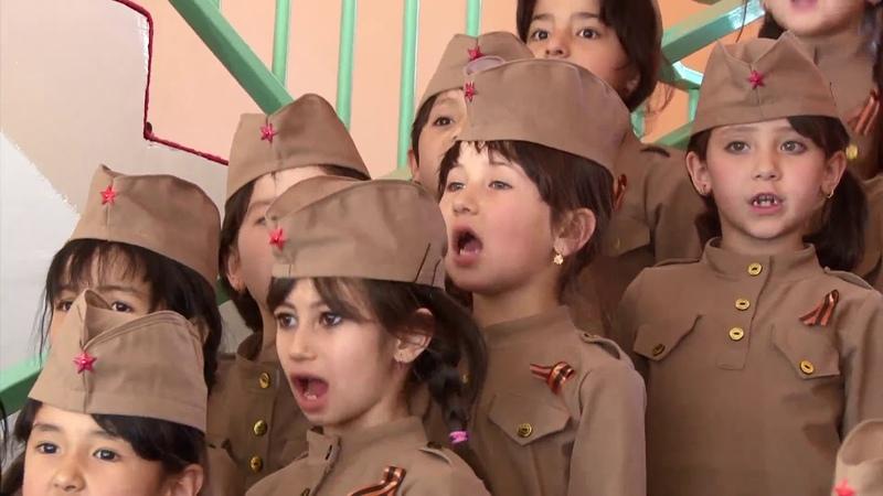 Смуглянка. Таджикские дети из детского сада №6 Гулшан взорвали интернет.