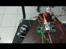 Разгон и торможение шагового двигателя
