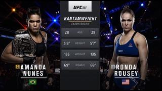 #UFC207: Аманда Нуньес против Ронды Роузи