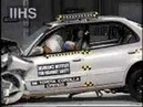 Toyota Corolla 1995-2002 Frontal Offset Crash Test CrashNet1