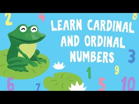 Learn ordinal numbers for kids | First, Second, Third | Numbers for Preschool and Kindergarten