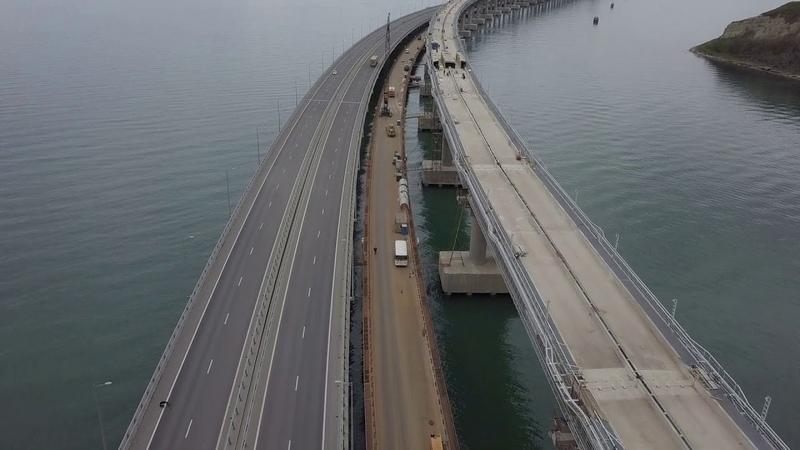 Керченский Мост.17 04 2019.Шедевр российских строителей.