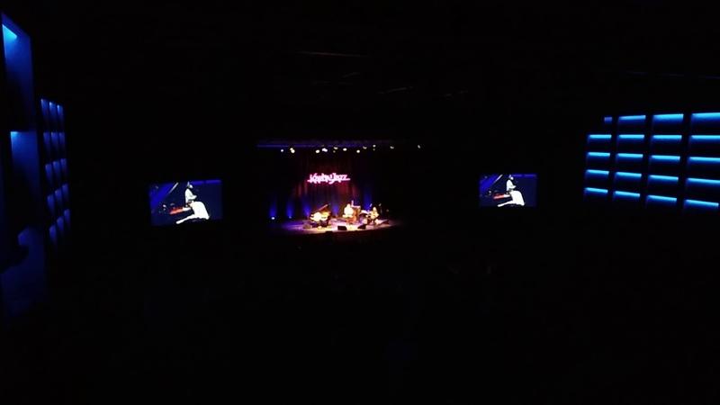 SalvadorSobral. Lithuania. Vilnius. Compensa sala. Really live, true and honest music