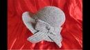 Prezentare Pălărie elegantă de iarnă 2 croșetată