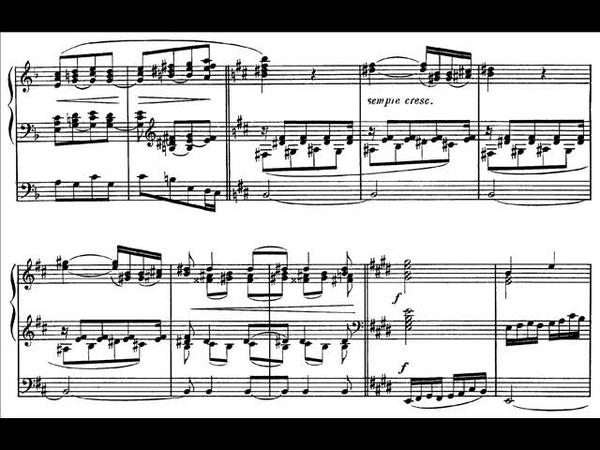 Saint Saëns, Bénédiction nuptiale op. 9, for Organ (1859)