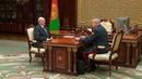 О бытовых преступлениях, миграции и Динамо - Лукашенко принял с докладом Шуневича