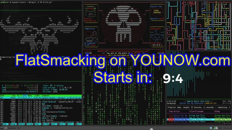 Time to Flat Smack on YOUNOW.com - Slower paced... exponentially more effective!