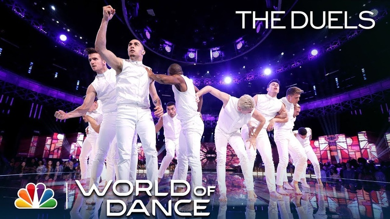 Derek Hough Has to Stand for Embodiment's Duels Performance - World of Dance 2018: The Duels