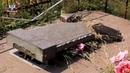 Акт вандализма на кладбище в Енакиево: специальный репортаж