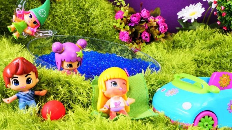 Çizgi film. Pinypon oyuncakların göl macerası hastanede bitiyor