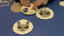 How to Make a Fondant Sheep using the FMM Mix 'n' Match Large Face Cutter