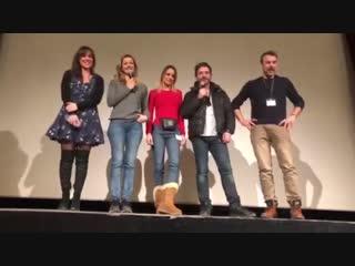 Актеры сериала Тайны любви на фестивале в Люшоне