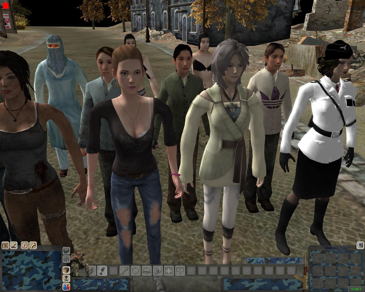 Скачать 3D модель Girls pack 2.0