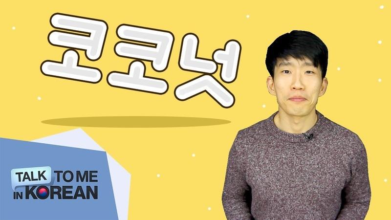 "Korean QA - Why is ""coconut 코코넛, not 코코넡"