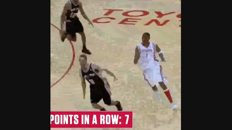 One of the most amazing individual sequences in NBA history courtesy of Tracy McGrady happened 14 years ago