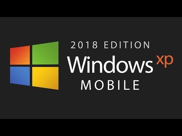 Introducing Windows XP Mobile — 2018 Edition (Concept Design)