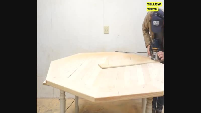 Круглый столик Проект Дача