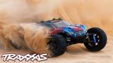 Fully Upgraded Rustler 4X4 VXL Rips Through the Desert