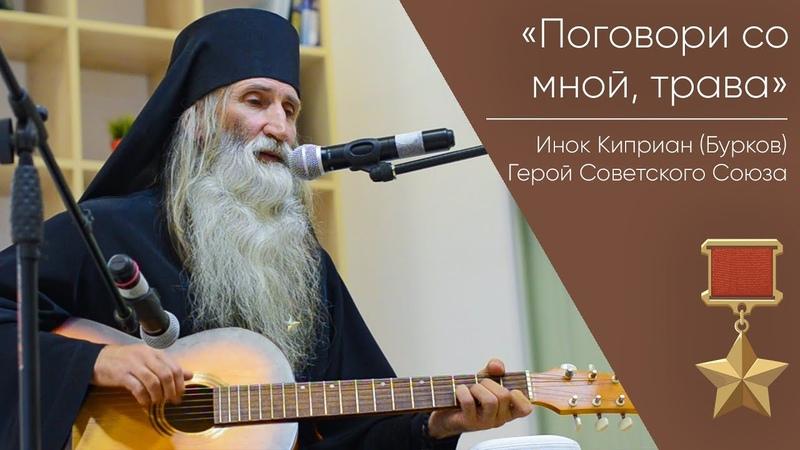 Поговори со мной трава Поет Инок Киприан Бурков