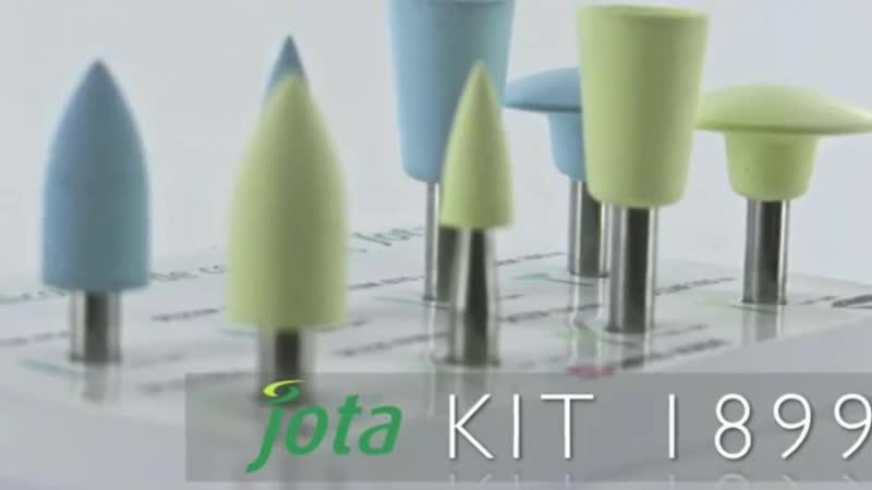 Jota , Kit Silicon polisher Composite , 1899 , Набор силиконовых полиров для композитов.