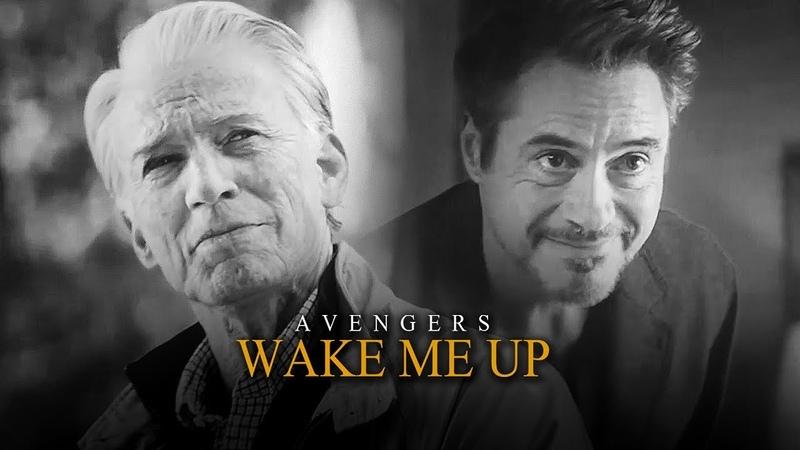 Marvel Avengers Wake Me Up