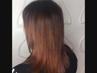 Окрашивание Wella professional🔝🔝🔝 + уход Greymy Professional Hair Spa Keratin 🔥🔥🔥 Парикмахер стилист Анна❤️
