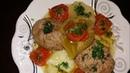 Азербайджанское блюдо Газан Котлет