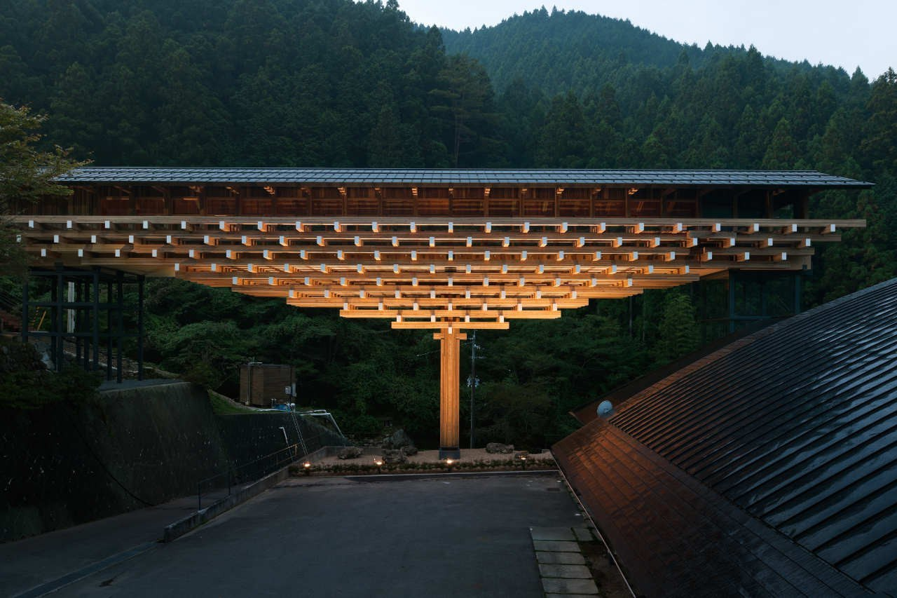 Интересные деревянные конструкции
