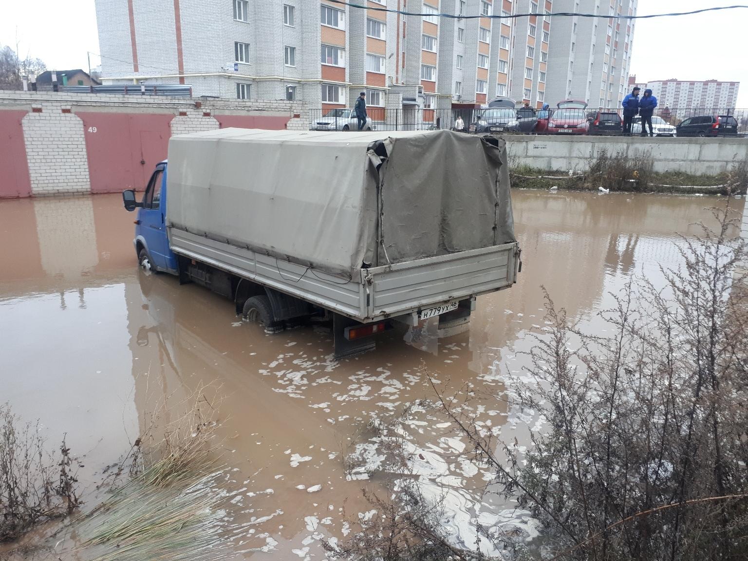 «Курскводоканал» отчитался о ликвидации коммунальной аварии на проспекте Хрущева