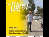 Le Franco-Palestinien Salah Hamouri libéré après plus dun an de détention en Israël