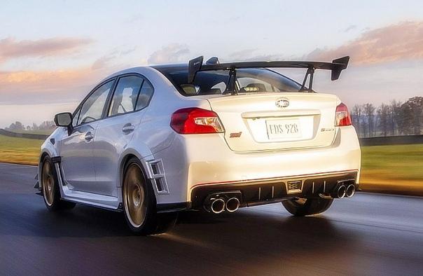 Subaru выпустит 200 трековых WRX STI с 346-сильным мотором Марка представила специальную модификация спортседанаЯпонская марка Subaru представила на автосалоне в Детройте специальную трековую