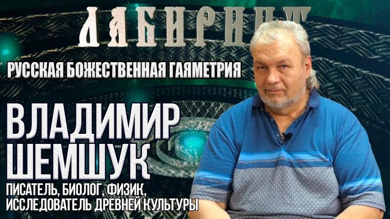 ЛАБИРИНТ | Русская божественная гаяметрия | В. Шемшук