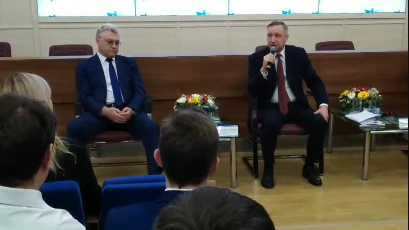 Александр Беглов на награждении лидеров трудовых коллективов концерна Алмаз Антей